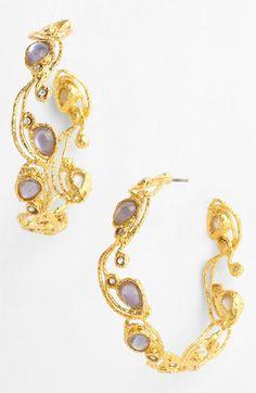 Alexis Bittar 'Elements-Mauritius' Hoop Earrings