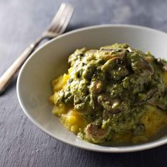 ... Polenta + Mushrooms on Pinterest   Creamy polenta, Polenta and