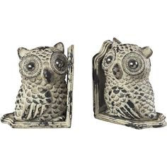I pinned this Owl Bookend (Set of 2) from the Allister Home event at Joss and Main!