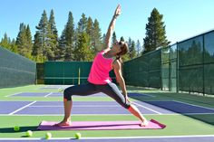 5 Yoga Poses for Tennis Players