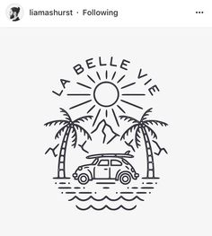 49 best ideas for palm tree illustration Tree Illustration, Graphic Illustration, Palm Tree Drawing, Wave Drawing, Beach Logo, Palm Tree Vector, Doodle Tattoo, Line Art, Tree Graphic