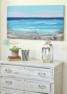 """""""Shimmering Sea"""" Original Painting {ready-to-ship}"""