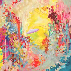 Vibrant Giclee on Canvas multi