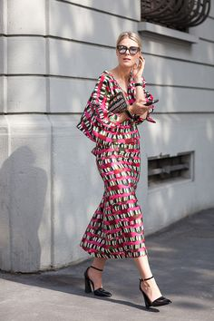 Sofie Valkiers at Milan fashion week SS15   Photographed by Ashka Shen   Xssat Street Fashion