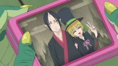 Beelzebub found a photo of Lilith and Hoozuki