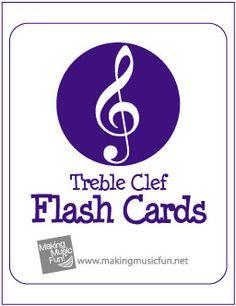 Free Printable Music Flash Cards