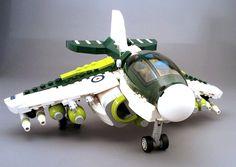 - Hornet_ground by Sylon-tw. Lego Mecha, Lego Bionicle, Cool Lego, Cool Toys, Lego Avion, Lego Plane, Lego Helicopter, Lego War, Lego Lego
