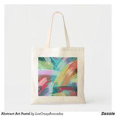 Abstract Art Pastel Tote Bag
