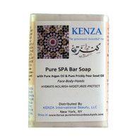 Kenza Pure Spa Bar Soap. 100% natural. Soft feeling on skin.