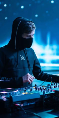 Alan Walker, musician, famous DJ, 1080x2160 wallpaper
