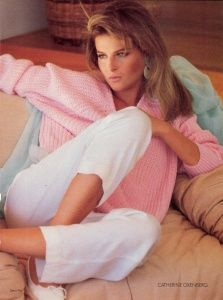 Catherine Oxenberg of Dynasty.