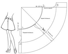 How to sew a skirt - shorts