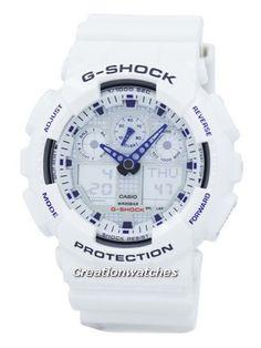 3a502a3e222 Casio G-Shock Analog-Digital GA-100A-7A GA100A-7A Men s Watch