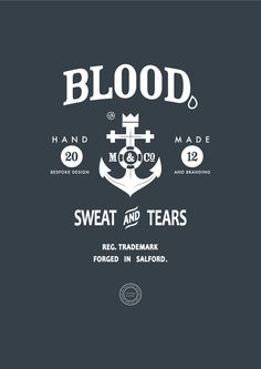 Badge Design by Joshua Evans, via Behance