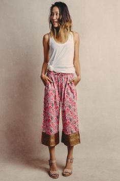 Mala Capri with Pocket by Punjammies. Created by women in India who wish to remain free from sex-slavery