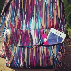 Backpack with all of the colors