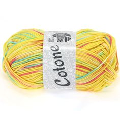 COTONE print 305-yellow / pink / orange / turquoise | EAN: 4033493134514