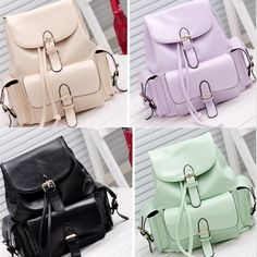 """use code: """"puririnhime"""" to get 10% OFF everytime you shop at www.sanrense.com Cute students backpack"""