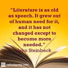 John Steinbeck, Literature