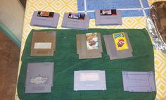 Cleaning old Nintendo cartridges