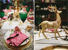 HOLIDAYS TWO WAYS: Dazzling Winter-Luxe Tabletop | Rue