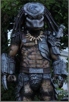 Buy Full Predator costume prop custom suit collectable the alien hunter at Wish - Shopping Made Fun Predator Tattoo, Predator Mask, Predator Movie, Alien Vs Predator, Predator Costume, Predator Cosplay, Predators Film, Alien Queen, Cool Costumes