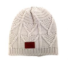 Bickley + Mitchell Cable Knit Beanie