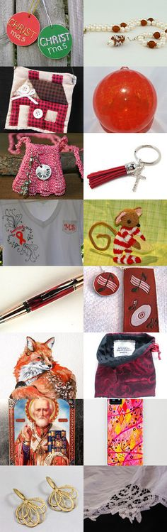 Sweet Christmas Gifts for All by Wine Charmers and More on Etsy--Pinned with TreasuryPin.com