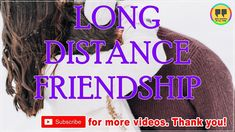 TOP 25 LONG DISTANCE FRIENDSHIP QUOTES - Best Friendship Quotes