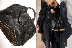 Love this Alexander Wang purse. The studs are amazing!
