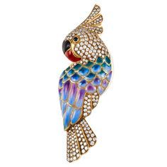1stdibs - Yellow Gold Parrot Pin explore items from 1,700  global dealers at 1stdibs.com