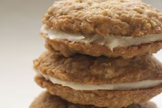 oatmeal cream pies...they look better than those boxed things we used to get in middle school with hot lunch