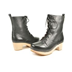 love these boots...small enough heel & nice tread for slippery fall & winter sidewalks in new england :)