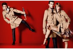 Burberry Ad - Spring 2013