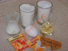 Lömbedek Tatlısı İçin Gerekli Malzemeler Glass Of Milk, Bargello, Food, Natural Health, Recipies, Essen, Meals, Yemek, Eten
