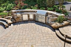 outdoor patio ideas with fire pit | Outdoor Kitchens-Outdoor Fire Pits-Outdoor Fireplaces-Patio Lighting