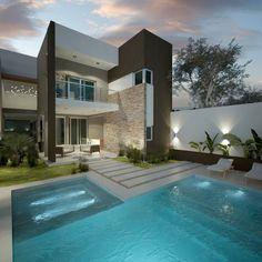 6a7ad850e2130 Diseño de patios pequeños con piscina   piletas de estilo por filippis dip  - diseño y construccion