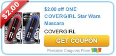 Covergirl Star Wars Mascara Only $3.94 at Walmart!