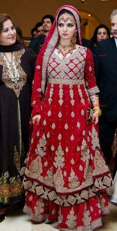 Pakistani wedding, dress by HSY. Pakistani fashion, Pakistani bride, #Pakistani dress