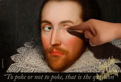 Hahaha, OMG look at this Facebook by Shakespear
