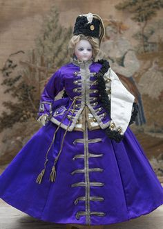 "15"" (38 cm) Antique French Fashion Bru doll with original unusual from respectfulbear on Ruby Lane"
