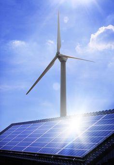#Solar_power for #wind_turbine