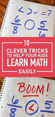 Math can be a hard and a boring subject for most kids. But you can make it easier for them using some clever tricks that would help them master different aspect of basic mathematics easily and they can even have fun doing it. Take a look at these easy tricks that would help your kid be so much better at math. #mathtricks