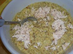 in my life: Crock Pot Dressing Crockpot Dressing, Chicken Dressing, Crockpot Recipes, Cooking Recipes, Cornbread Dressing, Crock Pot, Helpful Hints, Oatmeal, Thanksgiving
