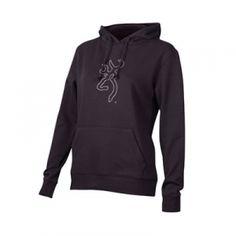 Browning Misses' Bling Sweatshirt - Black - Mills Fleet Farm