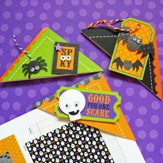 Doodlebug Design Inc Blog: Tuesday Tutorial: Halloween Bookmarks @Kathy Chan Martin   Idea for Valentines