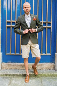 Why Wearing Shorts with Your Suit is Trending | Me My Suit And Tie