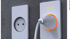 Designer Muhyeon Kim has designed a switch that displays how much power it is using