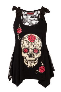 http://www.retroandpinupclothing.com/collections/frontpage/products/day-of-the-dead-skull-t-shirt