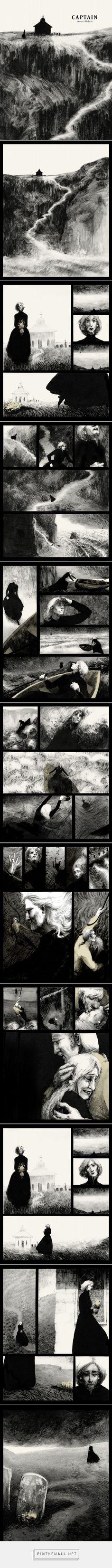 Captain - Graphic Novel - Serena Malyon Illustration - created via https://pinthemall.net
